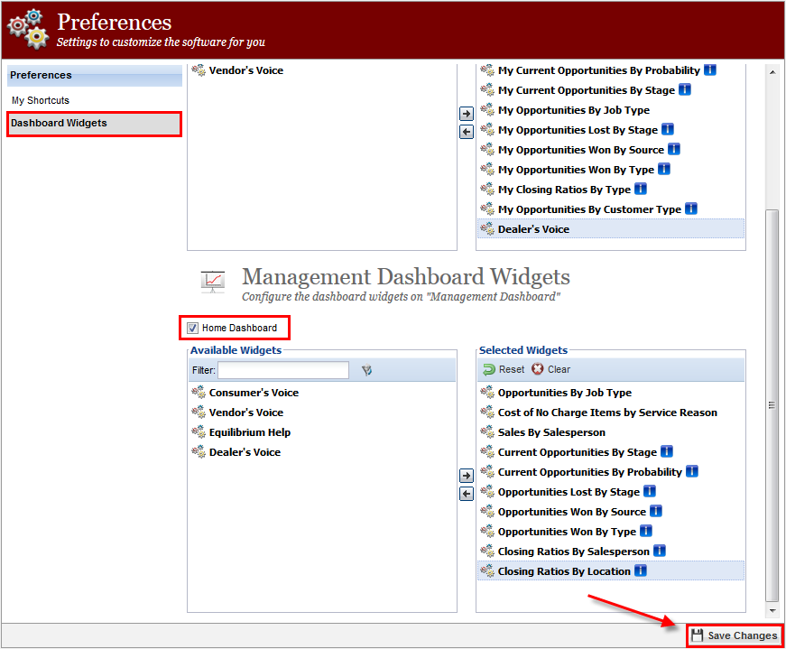 """Why can't I see the """"Management Dashboard""""? - Breakfront Software"""