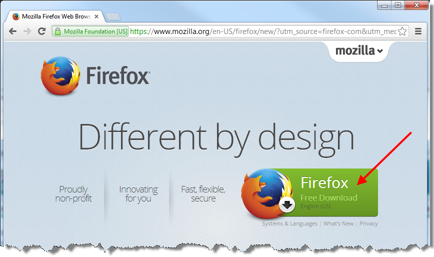 Downloading Firefox as your Browser - Breakfront Software