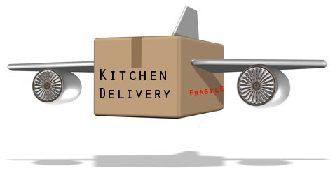 Amazon drone kitchen delivery